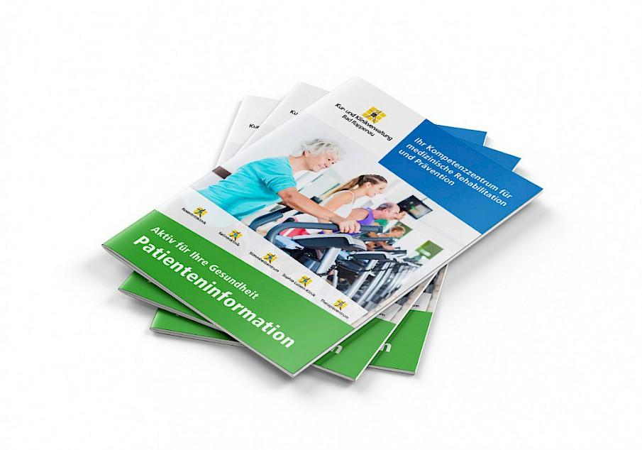 Flyer & Broschüren | Kur- und Rehakliniken Bad Rappenau